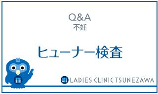 Q&A,不妊_ヒューナー検査,レディースクリニックつねざわ【福井市・福井駅東】産婦人科