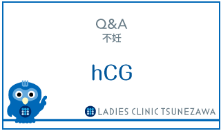 Q&A,不妊_hCG,レディースクリニックつねざわ【福井市・福井駅東】産婦人科