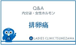 Q&A,内分泌・女性ホルモン_排卵痛,レディースクリニックつねざわ【福井市・福井駅東】産婦人科