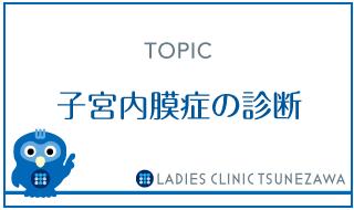 子宮内膜症の診断,レディースクリニックつねざわ【福井市・福井駅東】産婦人科