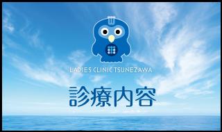 診療内容,レディースクリニックつねざわ【福井市・福井駅東】産婦人科
